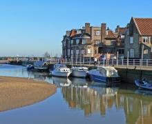 Blakeney Quay, north Norfolk